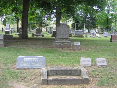 CARTER FAMILY GROUPING, JOHN - Huron County, Ohio | JOHN CARTER FAMILY GROUPING - Ohio Gravestone Photos