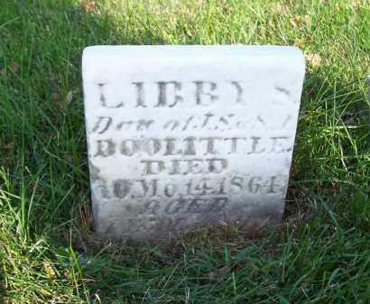 DOOLITTLE, LIBBY S - Huron County, Ohio | LIBBY S DOOLITTLE - Ohio Gravestone Photos