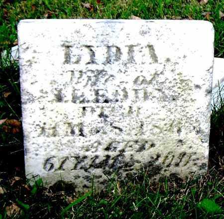 EDDY, LYDIA - Huron County, Ohio | LYDIA EDDY - Ohio Gravestone Photos