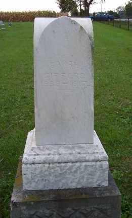 GIFFORD, SARAH - Huron County, Ohio | SARAH GIFFORD - Ohio Gravestone Photos