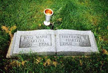 MYERS HARTZEL, ROSE MARIE - Huron County, Ohio | ROSE MARIE MYERS HARTZEL - Ohio Gravestone Photos