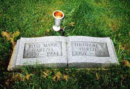 HARTZEL, ROSE MARIE - Huron County, Ohio | ROSE MARIE HARTZEL - Ohio Gravestone Photos