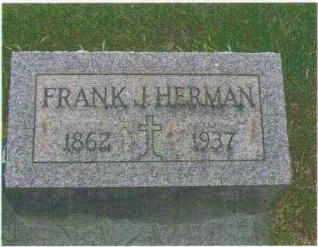 HERMAN, FRANK JOSEPH - Huron County, Ohio | FRANK JOSEPH HERMAN - Ohio Gravestone Photos