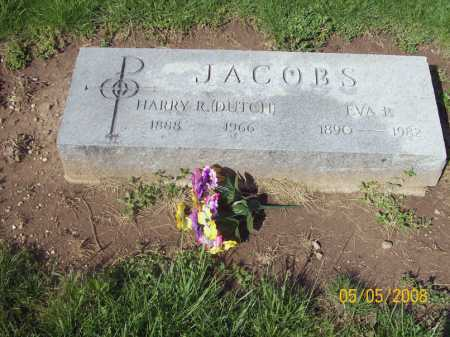 LONG JACOBS, EVA - Huron County, Ohio | EVA LONG JACOBS - Ohio Gravestone Photos