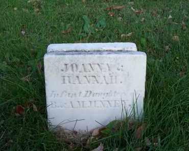 JENNEY, HANNAH - Huron County, Ohio | HANNAH JENNEY - Ohio Gravestone Photos