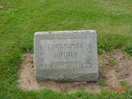 LOFGREN, CHRISTOPHER - Huron County, Ohio | CHRISTOPHER LOFGREN - Ohio Gravestone Photos