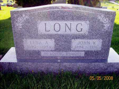 LONG, LENA - Huron County, Ohio | LENA LONG - Ohio Gravestone Photos