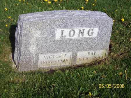 MCAFEE LONG, VICTORIA - Huron County, Ohio | VICTORIA MCAFEE LONG - Ohio Gravestone Photos