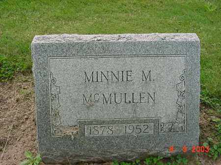 WILLIAMS MCMULLEN, MINNIE M. - Huron County, Ohio | MINNIE M. WILLIAMS MCMULLEN - Ohio Gravestone Photos