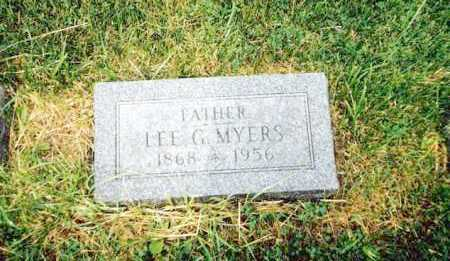 MYERS, LEE G. - Huron County, Ohio | LEE G. MYERS - Ohio Gravestone Photos