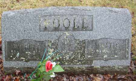 POOLE, EVERETT - Huron County, Ohio | EVERETT POOLE - Ohio Gravestone Photos
