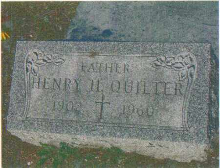 QUILTER, HENRY H (SR) - Huron County, Ohio | HENRY H (SR) QUILTER - Ohio Gravestone Photos