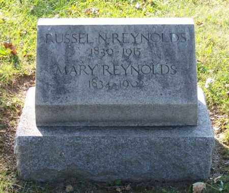 REYNOLDS, RUSSEL - Huron County, Ohio | RUSSEL REYNOLDS - Ohio Gravestone Photos