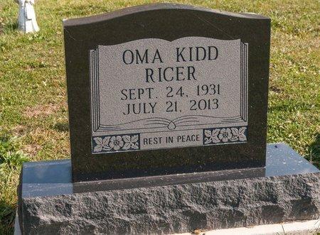 RICER, OMA - Huron County, Ohio | OMA RICER - Ohio Gravestone Photos