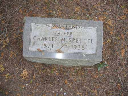 SPETTEL, CHARLES M - Huron County, Ohio | CHARLES M SPETTEL - Ohio Gravestone Photos