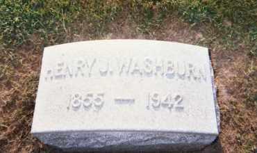 WASHBURN, HENRY J. - Huron County, Ohio | HENRY J. WASHBURN - Ohio Gravestone Photos