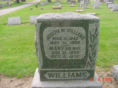 WILLIAMS, JOSEPH M. - Huron County, Ohio | JOSEPH M. WILLIAMS - Ohio Gravestone Photos