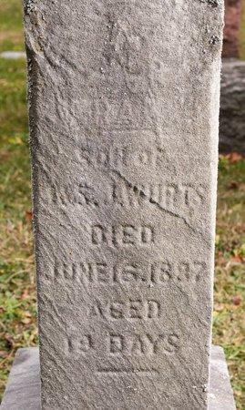 WURTS, FRANK - Huron County, Ohio | FRANK WURTS - Ohio Gravestone Photos