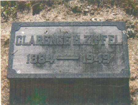 ZIPFEL, CLARENCE H. - Huron County, Ohio | CLARENCE H. ZIPFEL - Ohio Gravestone Photos