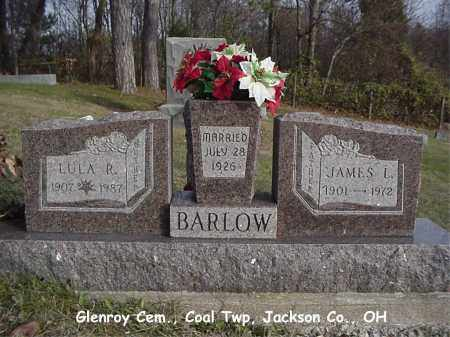 BARLOW, LULA - Jackson County, Ohio | LULA BARLOW - Ohio Gravestone Photos
