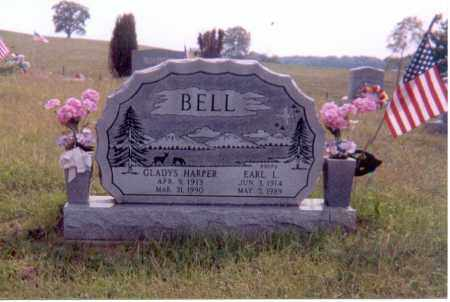 BELL, EARL L. - Jackson County, Ohio | EARL L. BELL - Ohio Gravestone Photos