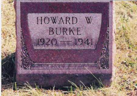 BURKE, HOWARD W. - Jackson County, Ohio | HOWARD W. BURKE - Ohio Gravestone Photos