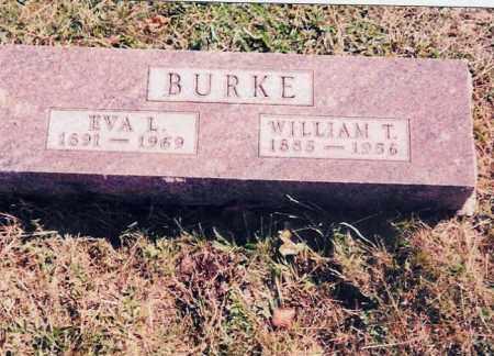 GILL BURKE, EVA L. - Jackson County, Ohio | EVA L. GILL BURKE - Ohio Gravestone Photos