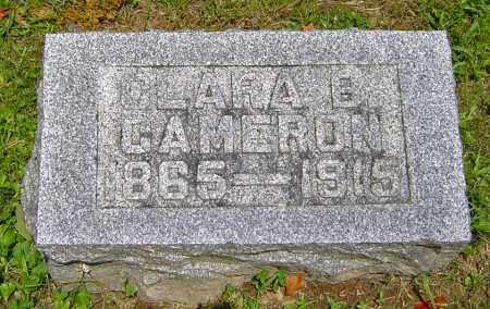 BROHARD CAMERON, CLARA - Jackson County, Ohio | CLARA BROHARD CAMERON - Ohio Gravestone Photos
