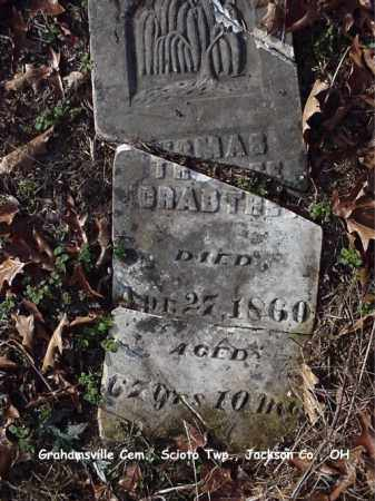 CRABTREE, THOMAS - Jackson County, Ohio | THOMAS CRABTREE - Ohio Gravestone Photos
