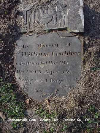 CRABTREE, WILLIAM - Jackson County, Ohio | WILLIAM CRABTREE - Ohio Gravestone Photos