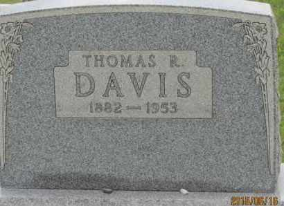 DAVIS, THOMAS - Jackson County, Ohio | THOMAS DAVIS - Ohio Gravestone Photos