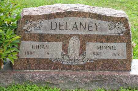 DELANEY, MINNIE - Jackson County, Ohio | MINNIE DELANEY - Ohio Gravestone Photos