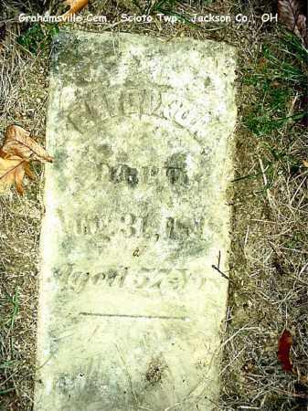 DIXON, ELI - Jackson County, Ohio | ELI DIXON - Ohio Gravestone Photos