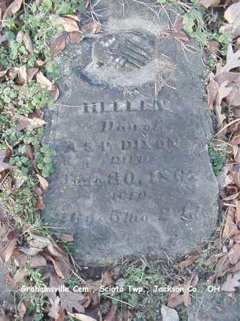 DIXON, HELEN - Jackson County, Ohio | HELEN DIXON - Ohio Gravestone Photos