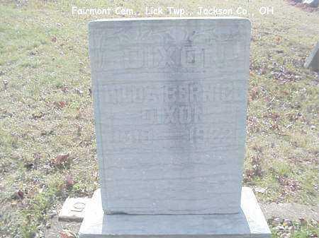 DIXON, HILDA - Jackson County, Ohio | HILDA DIXON - Ohio Gravestone Photos