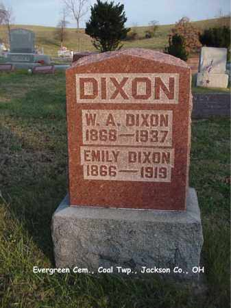 BROWN DIXON, EMILY - Jackson County, Ohio | EMILY BROWN DIXON - Ohio Gravestone Photos