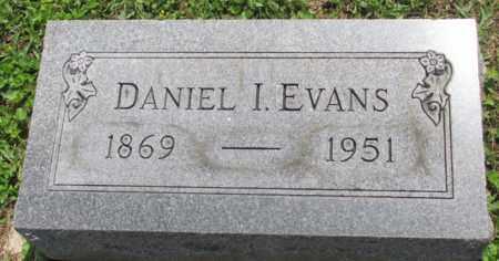 EVANS, DANIEL - Jackson County, Ohio | DANIEL EVANS - Ohio Gravestone Photos