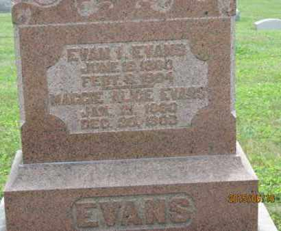 EVANS, EVAN - Jackson County, Ohio | EVAN EVANS - Ohio Gravestone Photos