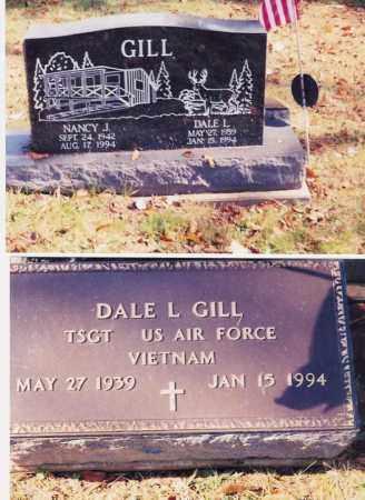 GILL, NANCY J. - Jackson County, Ohio | NANCY J. GILL - Ohio Gravestone Photos