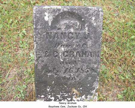 GRAHAM, NANCY - Jackson County, Ohio | NANCY GRAHAM - Ohio Gravestone Photos