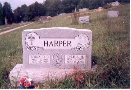 HARPER, DELPHA MAE - Jackson County, Ohio | DELPHA MAE HARPER - Ohio Gravestone Photos