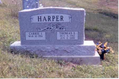 HARPER, CARRIE I. - Jackson County, Ohio | CARRIE I. HARPER - Ohio Gravestone Photos