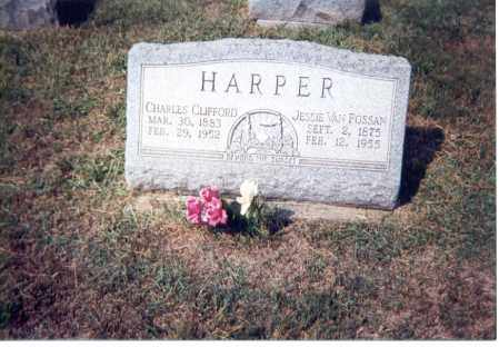 HARPER, CHARLES CLIFFORD - Jackson County, Ohio | CHARLES CLIFFORD HARPER - Ohio Gravestone Photos