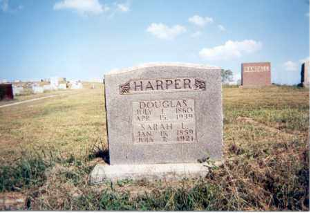 HARPER, DOUGLAS - Jackson County, Ohio | DOUGLAS HARPER - Ohio Gravestone Photos