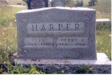 HARPER, ELLA - Jackson County, Ohio | ELLA HARPER - Ohio Gravestone Photos