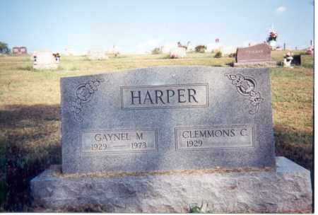 HARPER, CLEMMONS C. - Jackson County, Ohio | CLEMMONS C. HARPER - Ohio Gravestone Photos