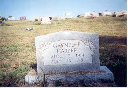 HARPER, GAYNEL P. - Jackson County, Ohio | GAYNEL P. HARPER - Ohio Gravestone Photos