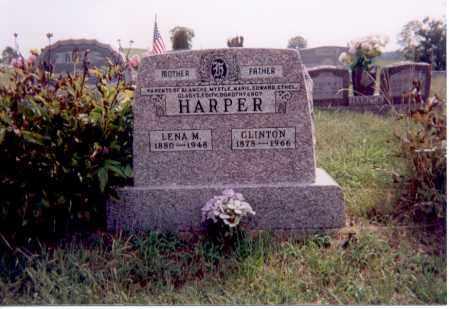 HARPER, LENA M. - Jackson County, Ohio | LENA M. HARPER - Ohio Gravestone Photos