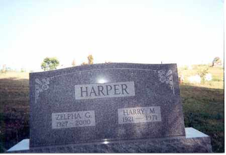 HARPER, HARRY M. - Jackson County, Ohio | HARRY M. HARPER - Ohio Gravestone Photos
