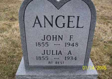 ANGEL JOHN, F. - Jackson County, Ohio | F. ANGEL JOHN - Ohio Gravestone Photos